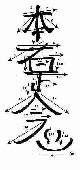 simbolos reiki maestria